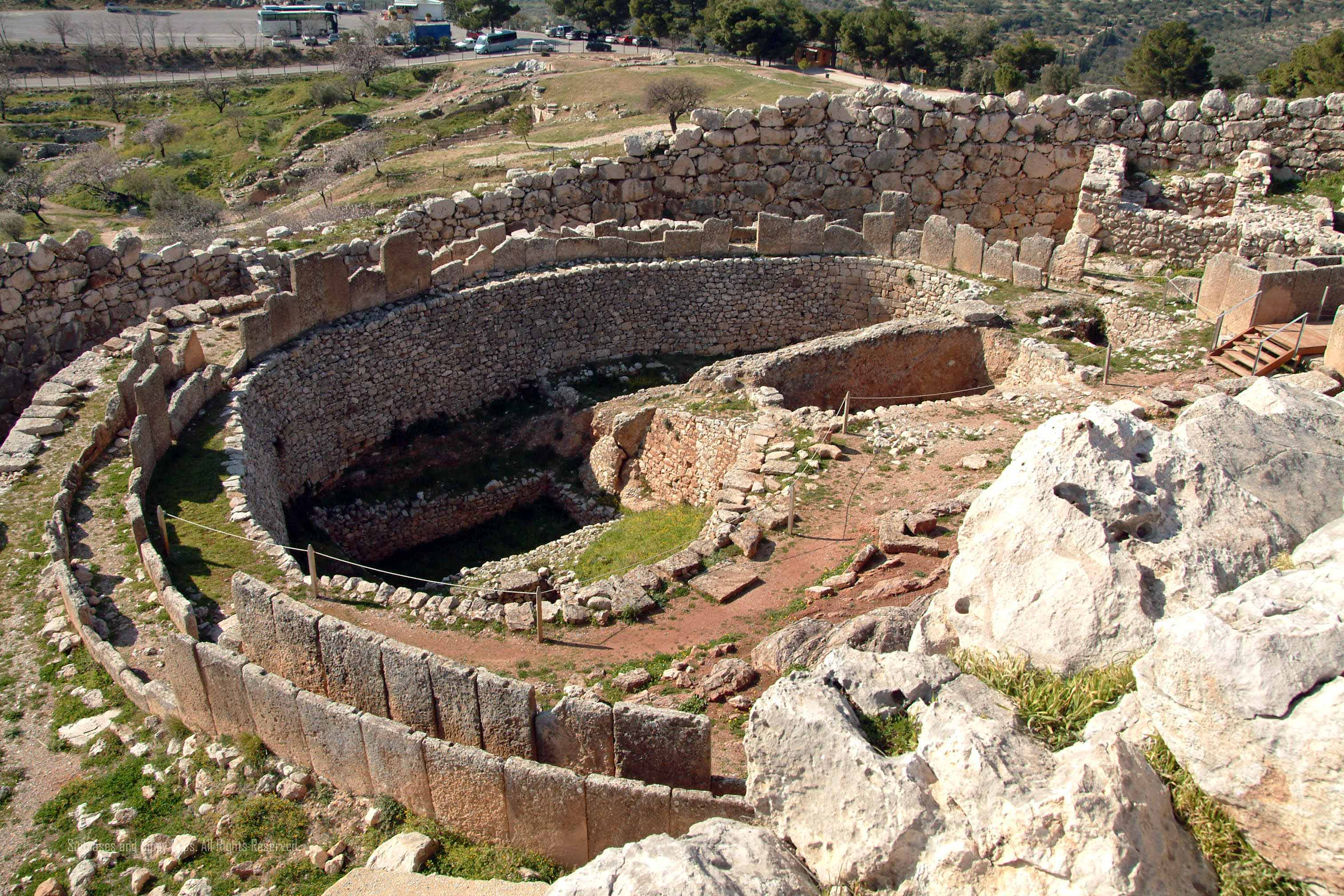 Touring Ancient Mycenae with Kids~Part One - Suitcases and ...