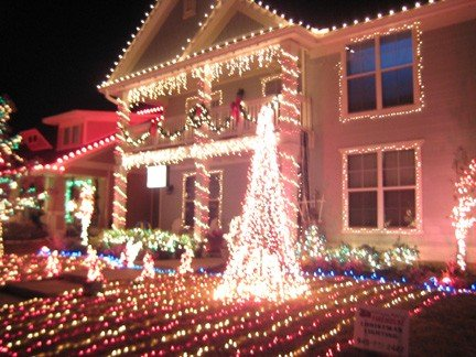 as vaderville providence christmas is an animatedsynchronized holiday display that using specialized hardware and software to control a magical light