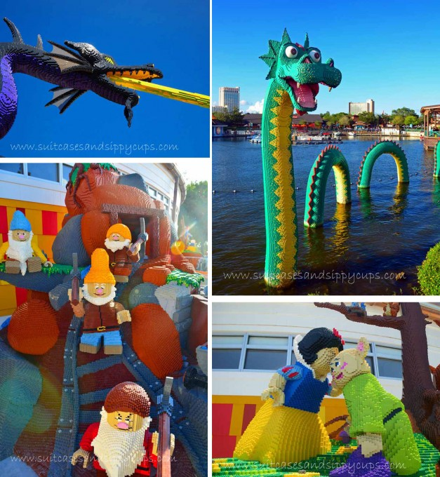 When Lego Meets Disney - Suitcases and Sippy Cups