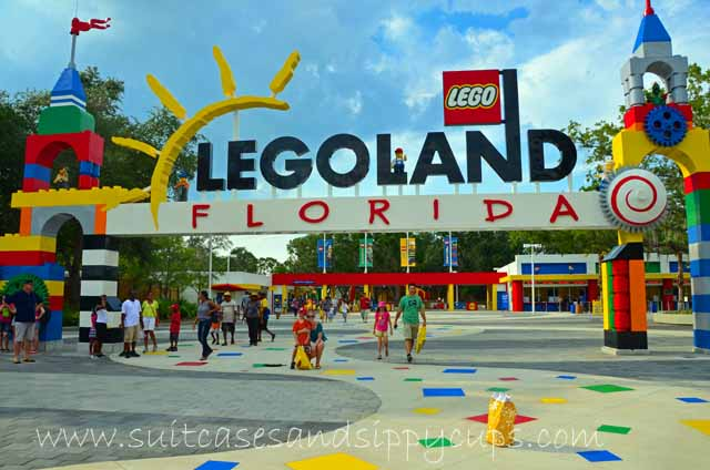 Saving Time and Money at Legoland Florida - Suitcases and Sippy Cups