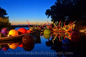 Chihuly Nights at Dallas Arboretum
