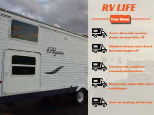 Tear Down Process for RV/Camper Travel