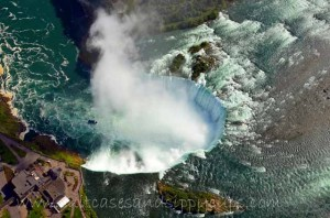 An Aerial View of Niagara Falls with Niagara Helicopters Ltd.