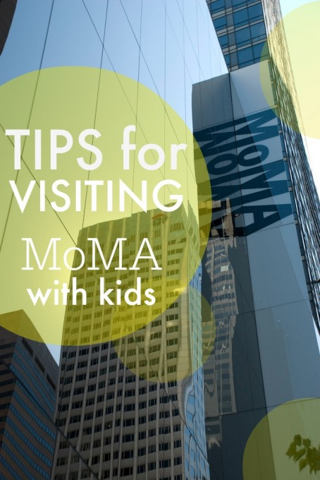 Tips for Visiting MoMa with Kids