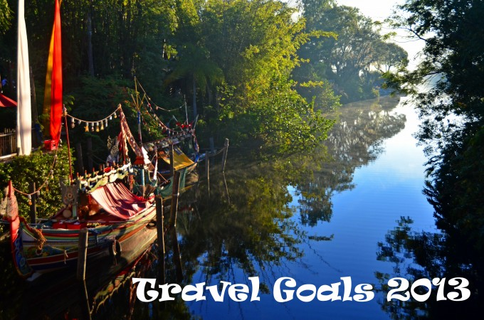 13 Travel Goals for 2013
