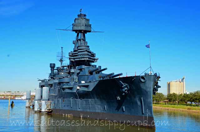 Not to Miss Texas: Visiting the Battleship Texas