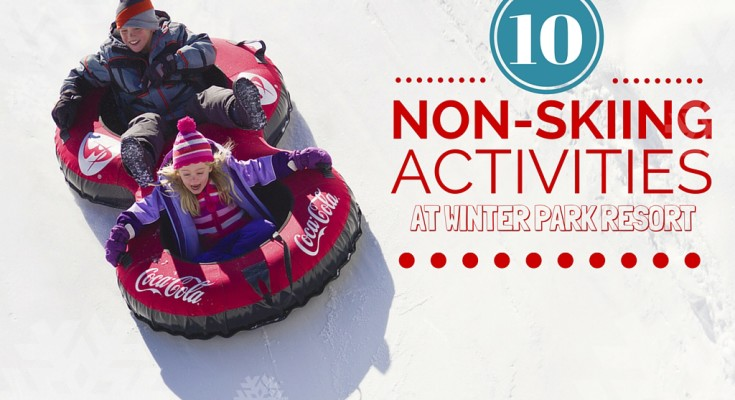 10 Activities for Non-Skiers at Winter Park Resort