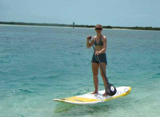 paddleboarding turks and caicos