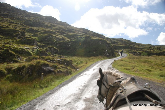 wandering educators Gap of Dunloe