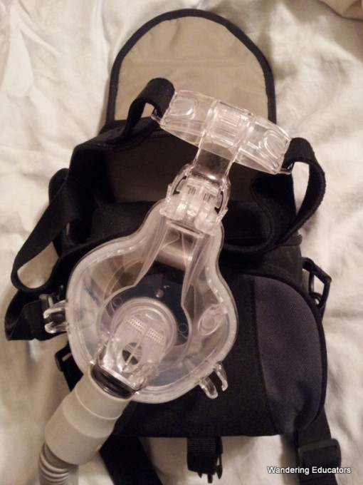wandering educators camera case for CPAP mask