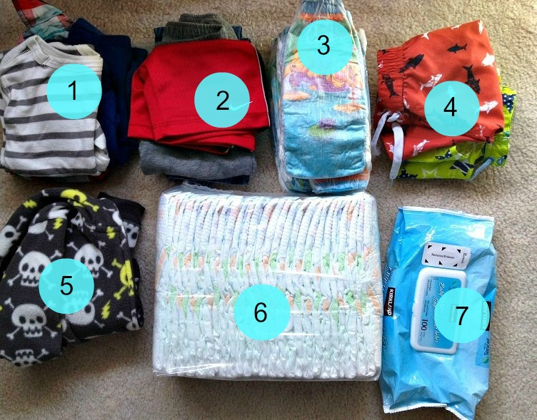 What's in My Suitcase: What to Pack for a Cruise with a Toddler