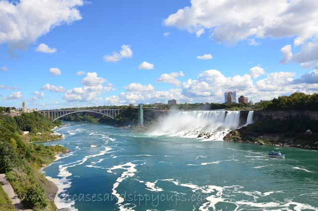 views from the Canadian side of the falls