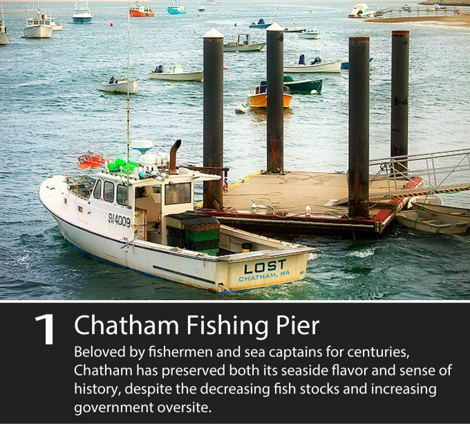 beloved by fisherman and sea captains for centuries, Chatham has preserved its sense of history, despite the decreasing fish stocks and increasing government oversite
