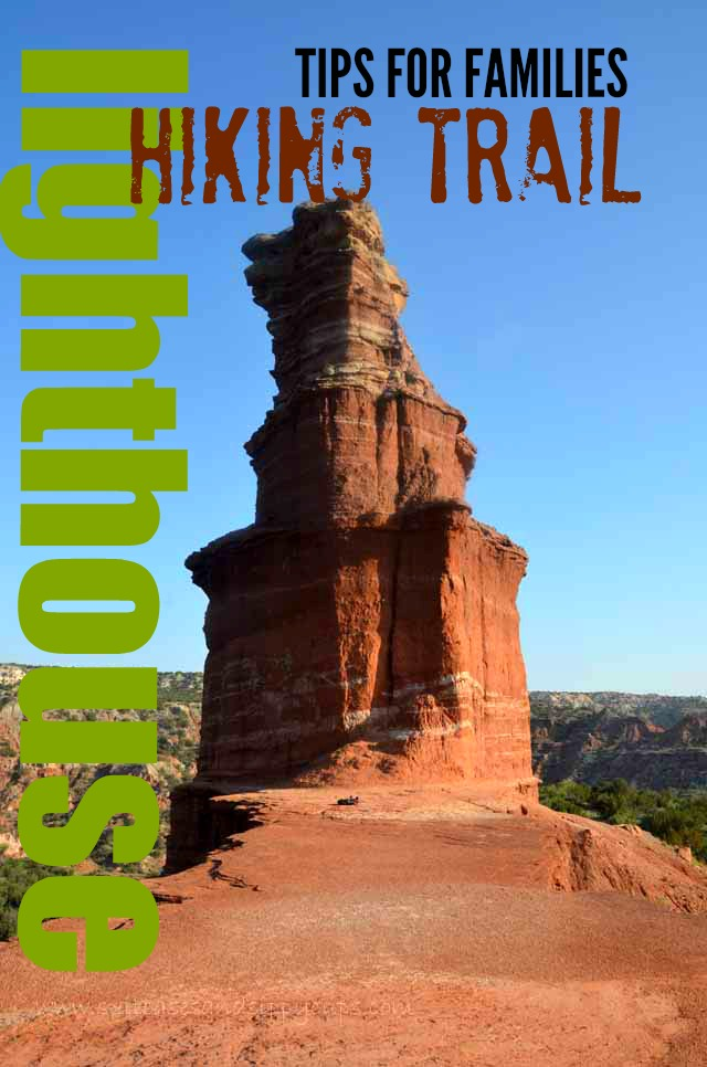 Hiking the Lighthouse Trail in Palo Duro Canyon with Kids+ A