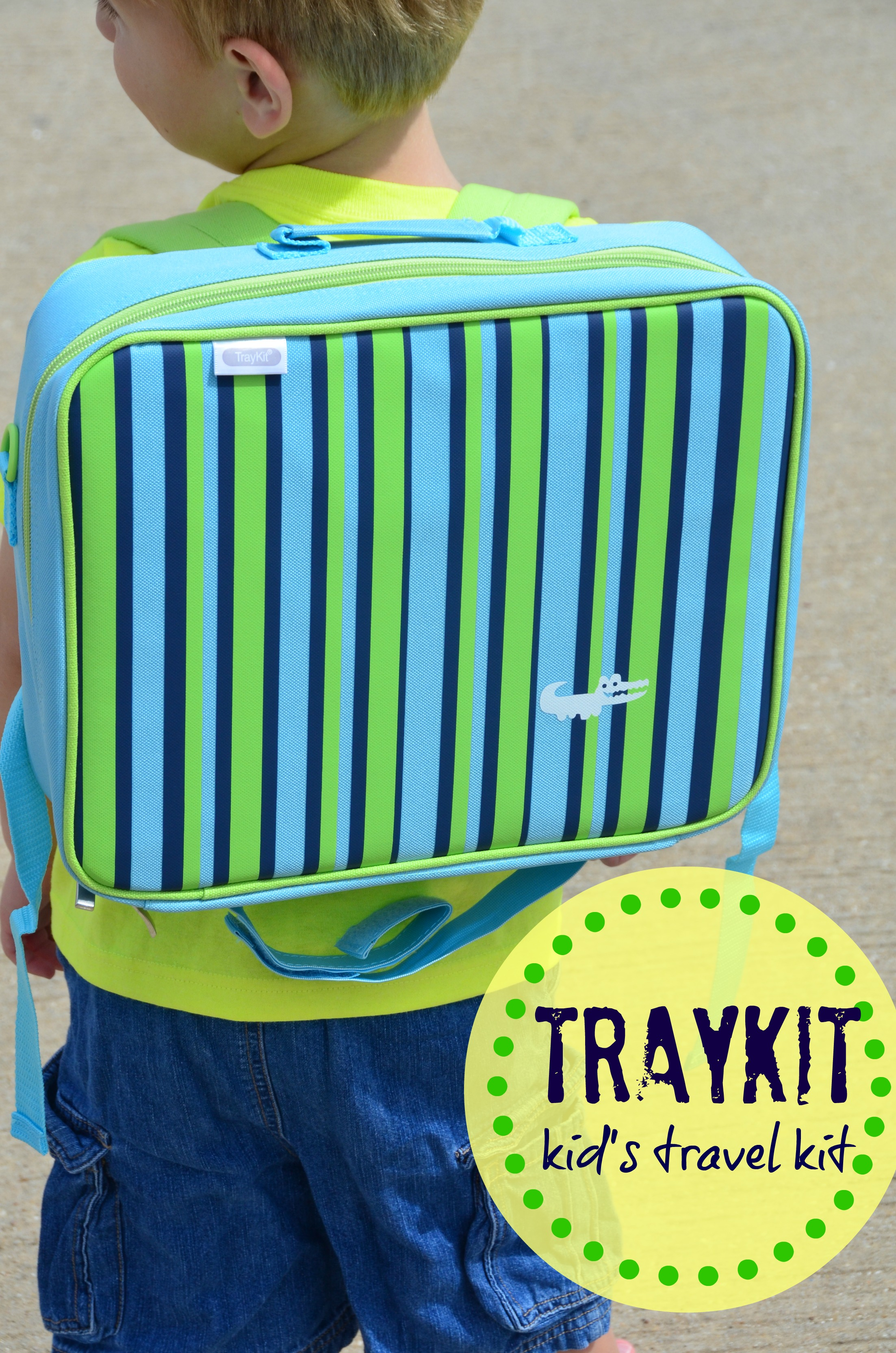 Kids Travel Bag~A Review of TrayKit - Suitcases and Sippy Cups 852489c974