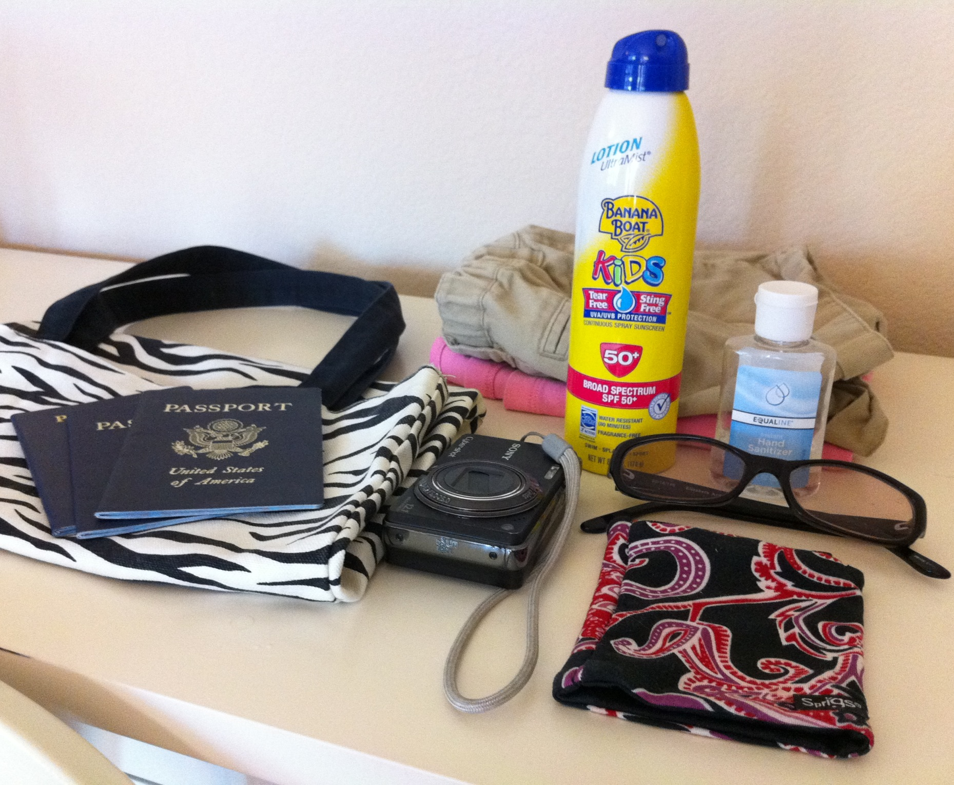 What to Pack in a Cruise Day Pack: What's in My Suitcase?