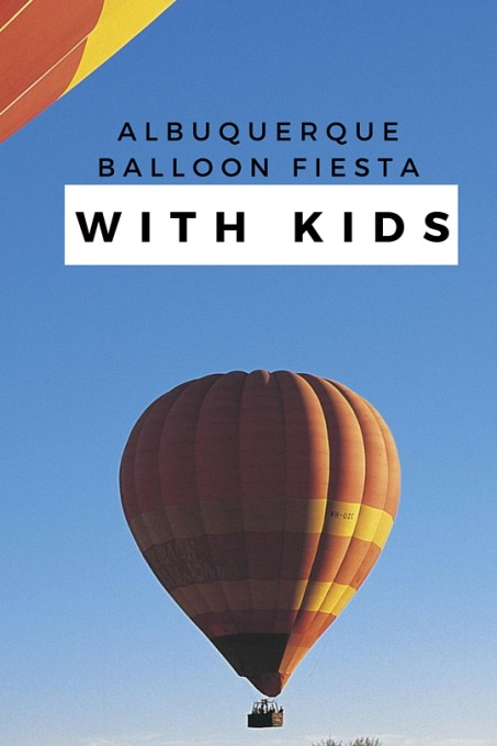 Albuquerque Balloon Fiesta with kids