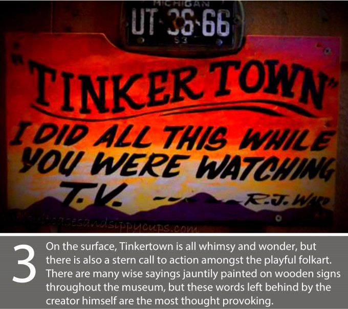 Tinkertown I did all this while you were watching TV