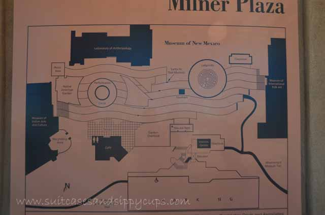 map of museum hill