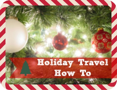 Holiday Travel How Tow