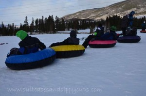 Race You to the Bottom: Family Tubing at Keystone Nordic Center