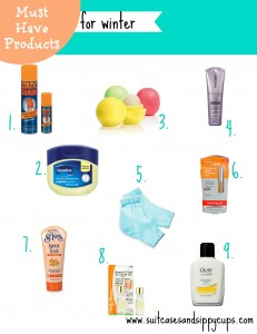 9 Must Have Beauty Products for Winter Ski Packing