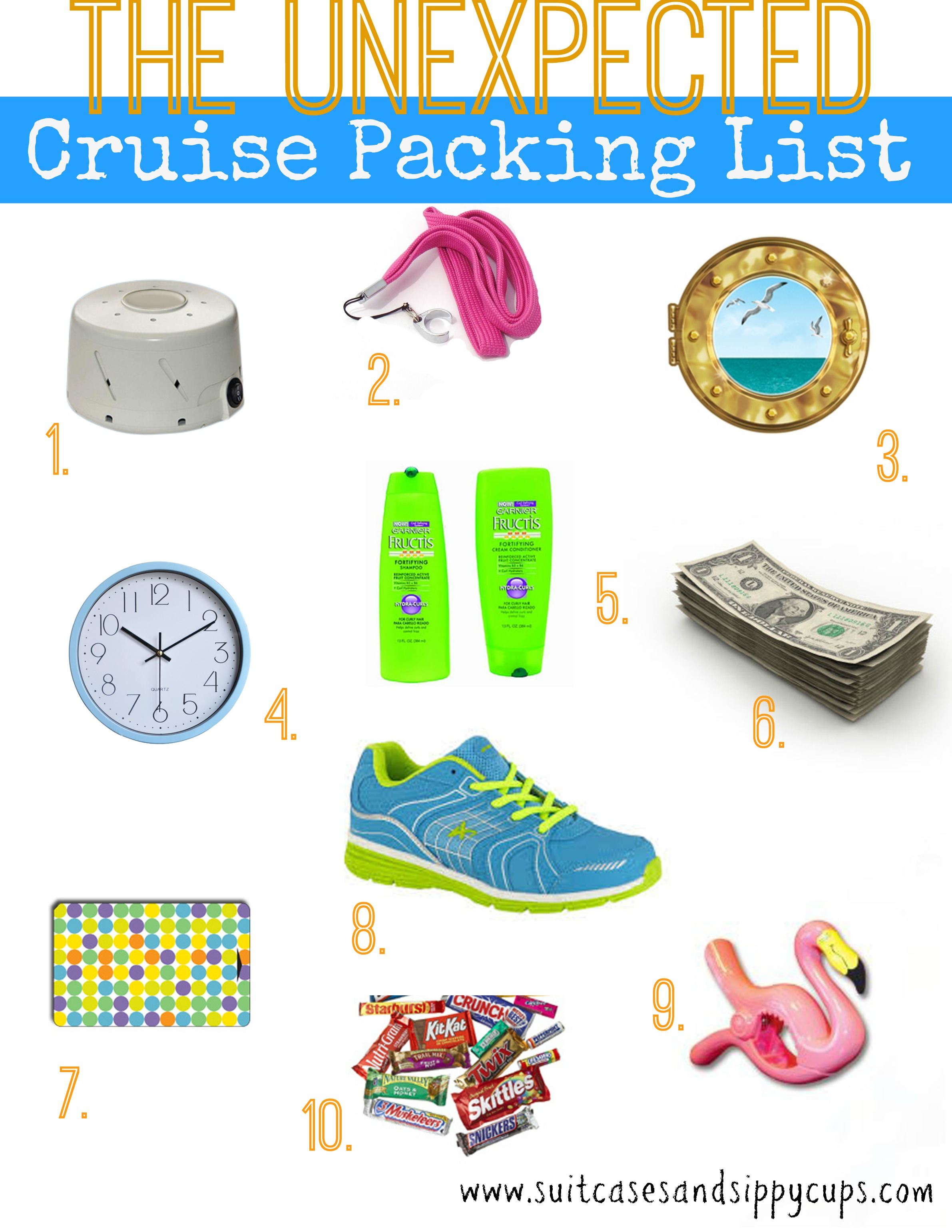 Unexpected Items to Pack for Your Next Cruise 2.0 - Suitcases and ...