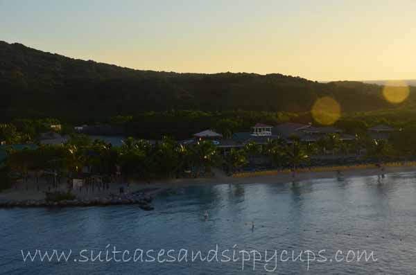 Roatan from cruise ship