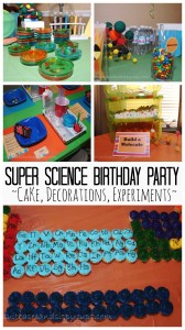 Throwing a Super Science Birthday Party
