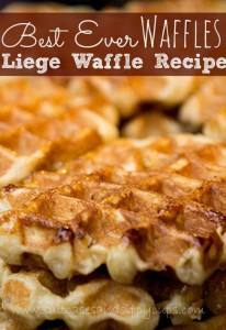 Love Me or Leige Me: Best Waffle Recipe of All Time