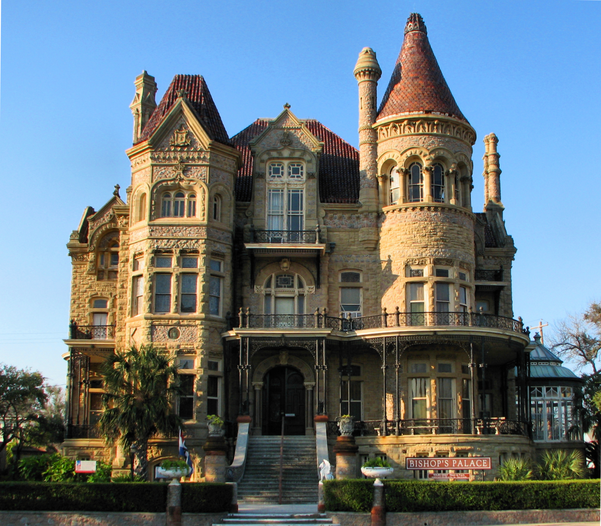 Exploring bishop 39 s palace in galveston with kids yes for Amazing mansions