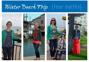 Travel Fashion Challenge: What to Pack for a Winter Beach Vacation
