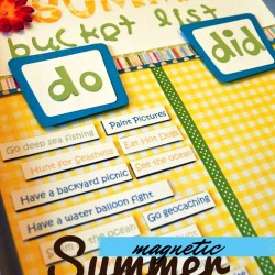 Making Summer Memories that Stick: A Magnetic Bucket List