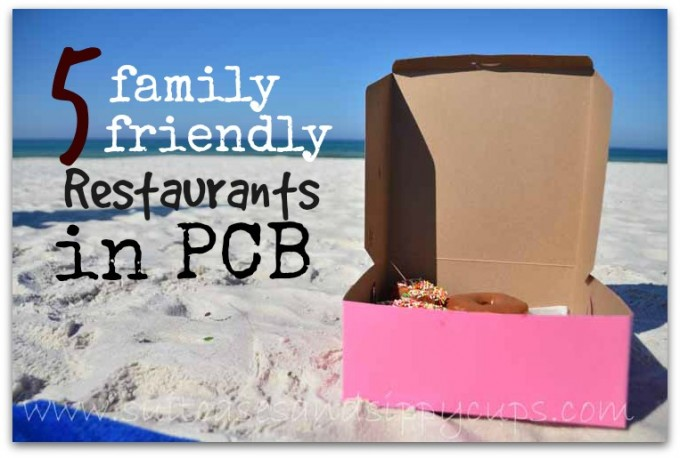 five family friendly restaurants in PCB