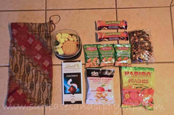 food to pack for an airplane