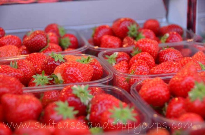 strawberries from France