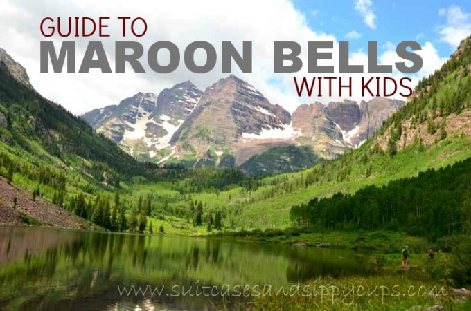 maroon bells with kids