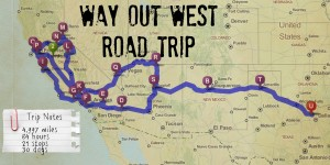Roadtrippin' Way Out West Itinerary