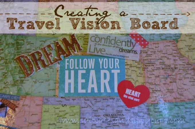 Creating a Travel Vision Board