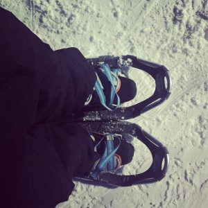 Snowshoeing to the Beat of Different Drummer