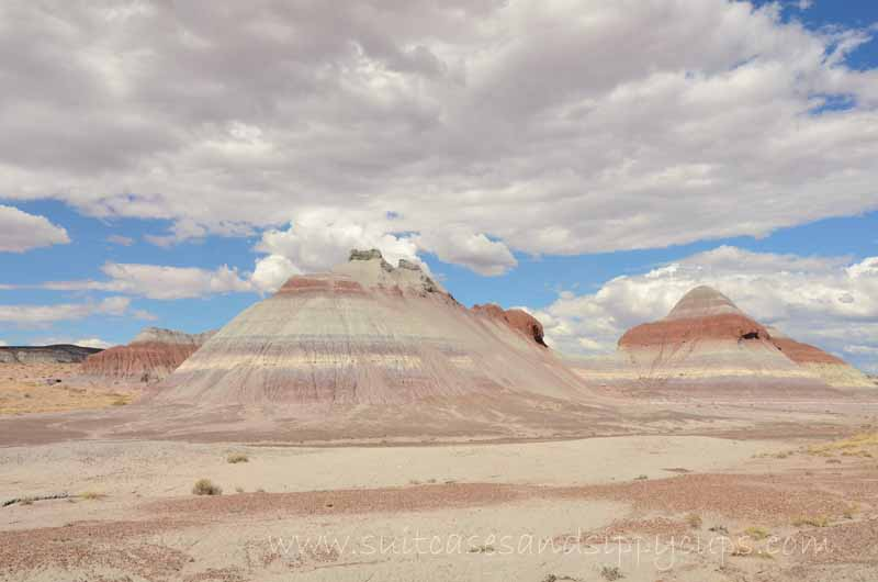 The Tepees at Petrified Forest