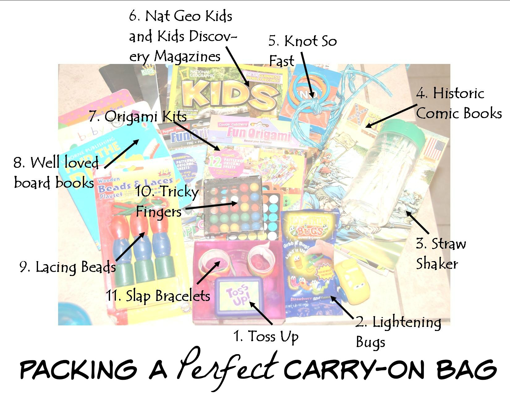 packing a perfect carryon bag