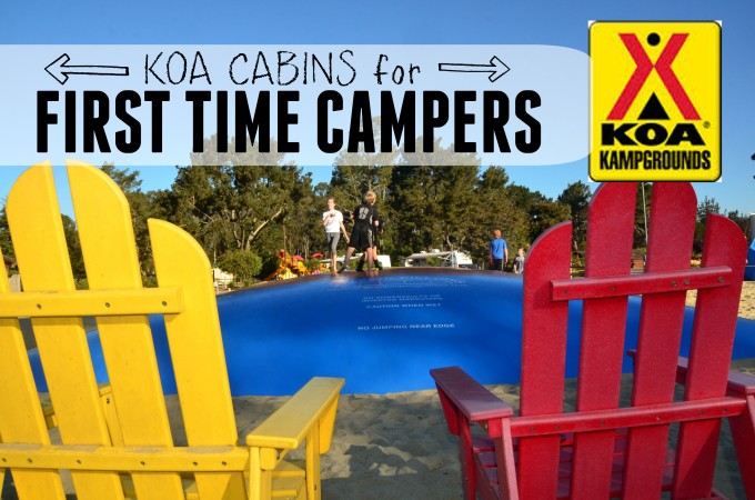 KOA First Time Campers