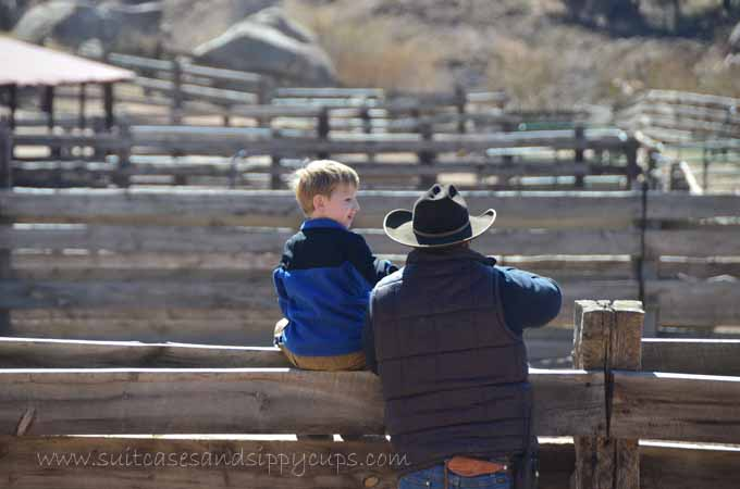 hospitality at a guest ranch