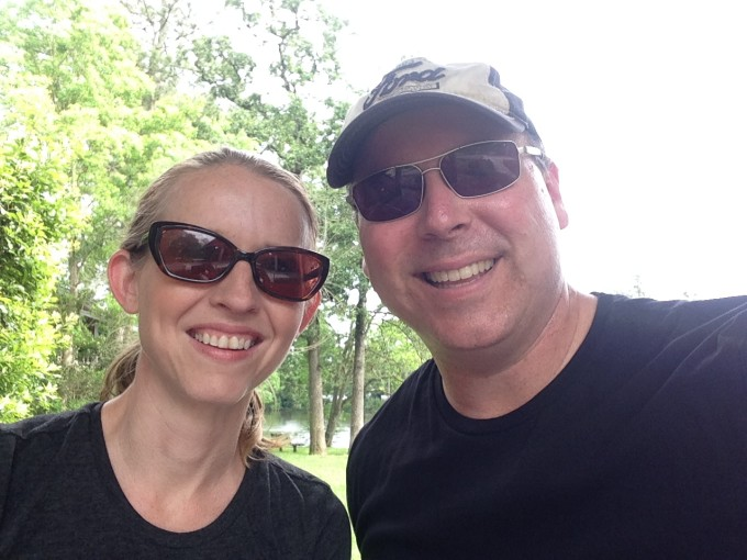 bicycling in the woodlands