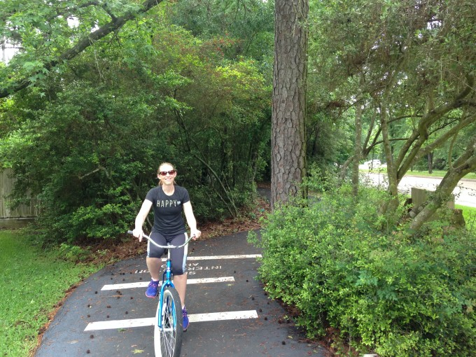 bicycling the woodlands