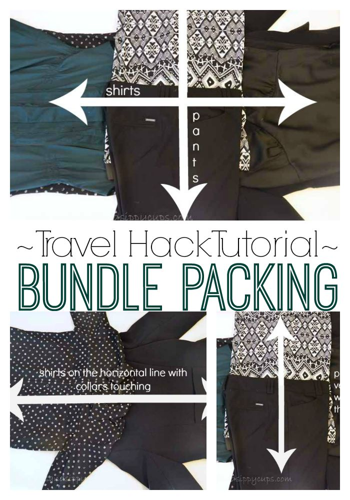 Travel Hack Tutorial: How to Bundle Pack