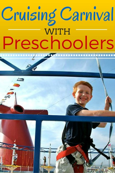 cruising carnival with preschoolers