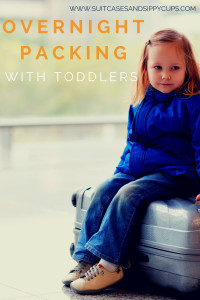 Packing an Overnight Bag for Toddlers