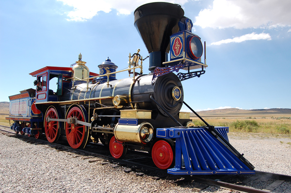 golden spike national historical site